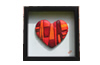 Little red heart pichelle sculpteur